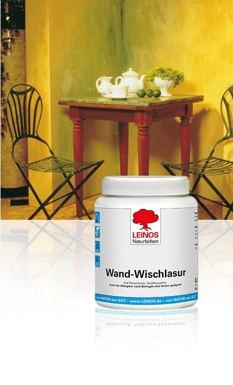 leinos wand wischlasur 601. Black Bedroom Furniture Sets. Home Design Ideas