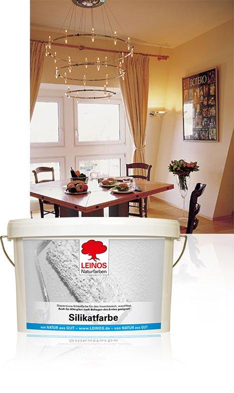 silikatfarbe 690 leinos naturfarben le und farben von natur aus gut. Black Bedroom Furniture Sets. Home Design Ideas