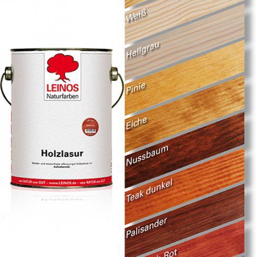 Farbige Holzlasuren Für Innen Oder Außen Leinos Naturfarben öle
